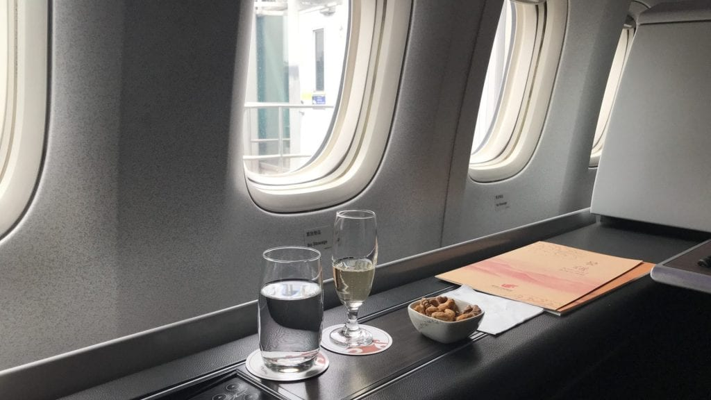 Air China First Class Drink
