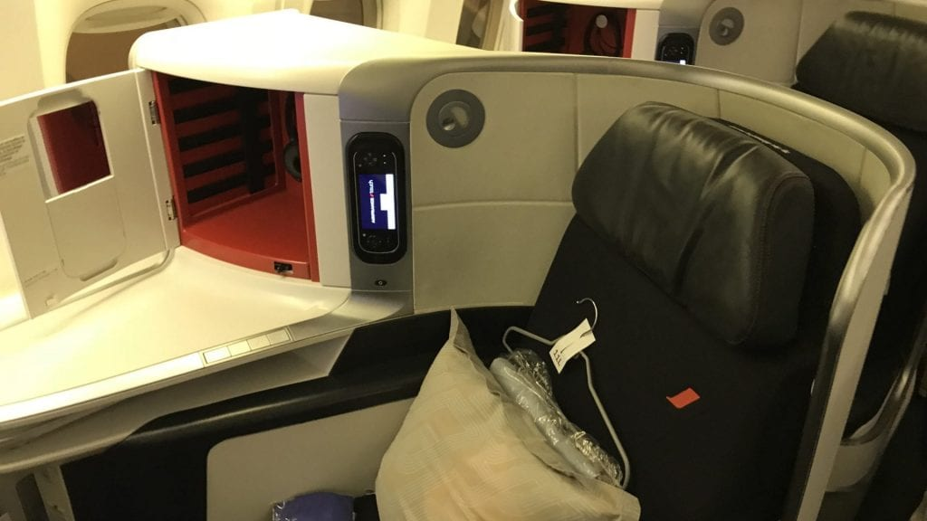 Air France Business Class Boeing 777