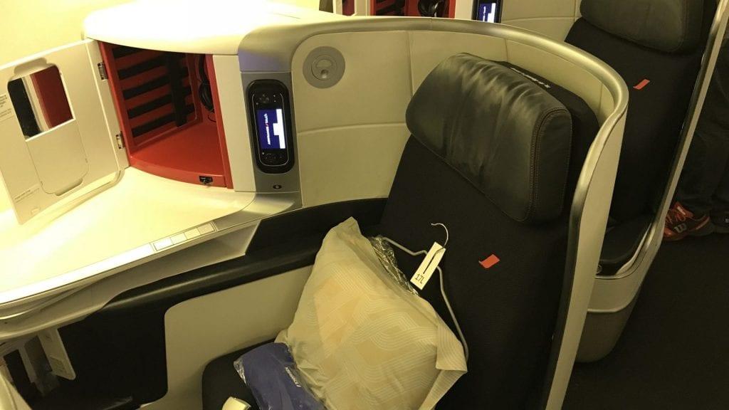Air France Business Class Boeing 777 300