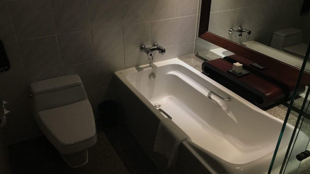 Pullman Bangkok Hotel G Badezimmer 1