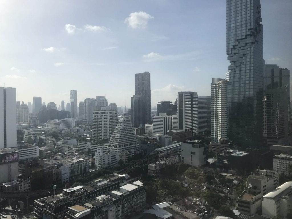 Pullman Bangkok Hotel G Ausblick
