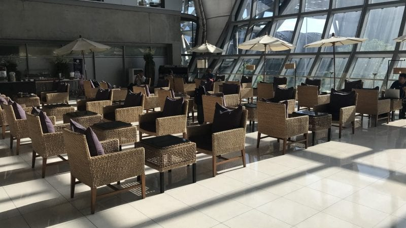 Thai Airways Royal Silk Lounge Bangkok Domestic Außen 2