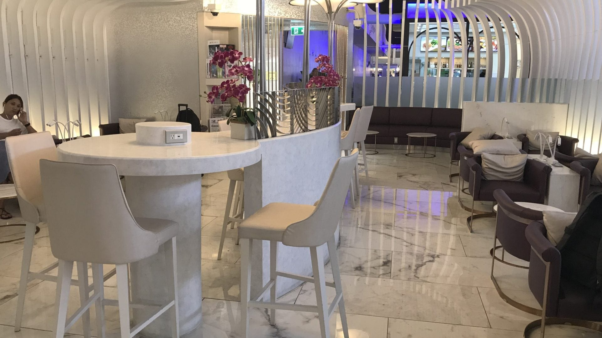 Review Thai Airways Royal Orchid Lounge Phuket Unser Test