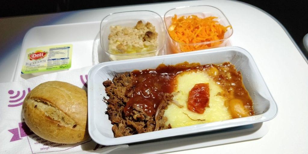 Eurowings Best Abendessen