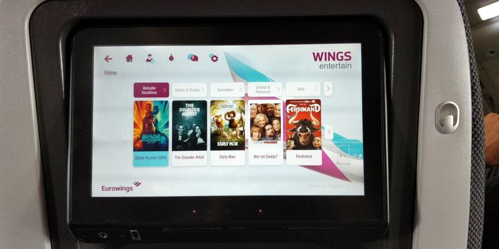 Eurowings Best Entertainment 2