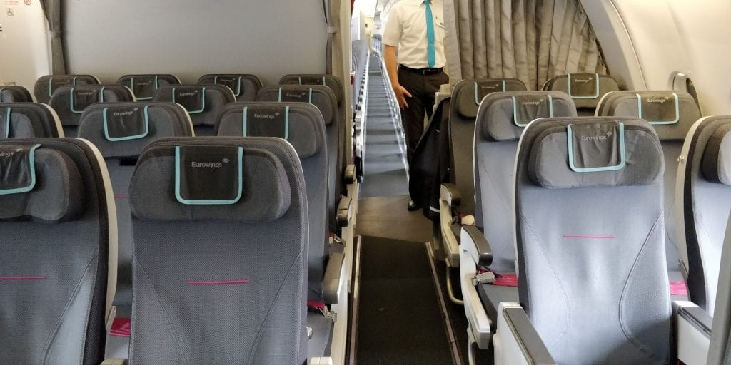 Eurowings Smart Langstrecke Kabine 2