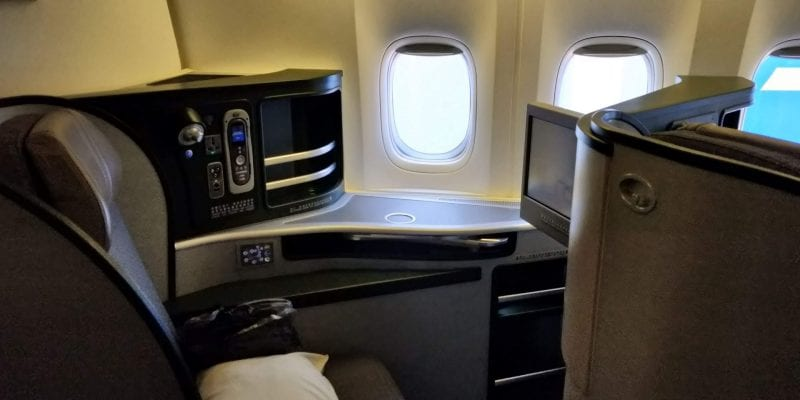 Eva Air Business Class Boeing 777 Fenstersitz 1