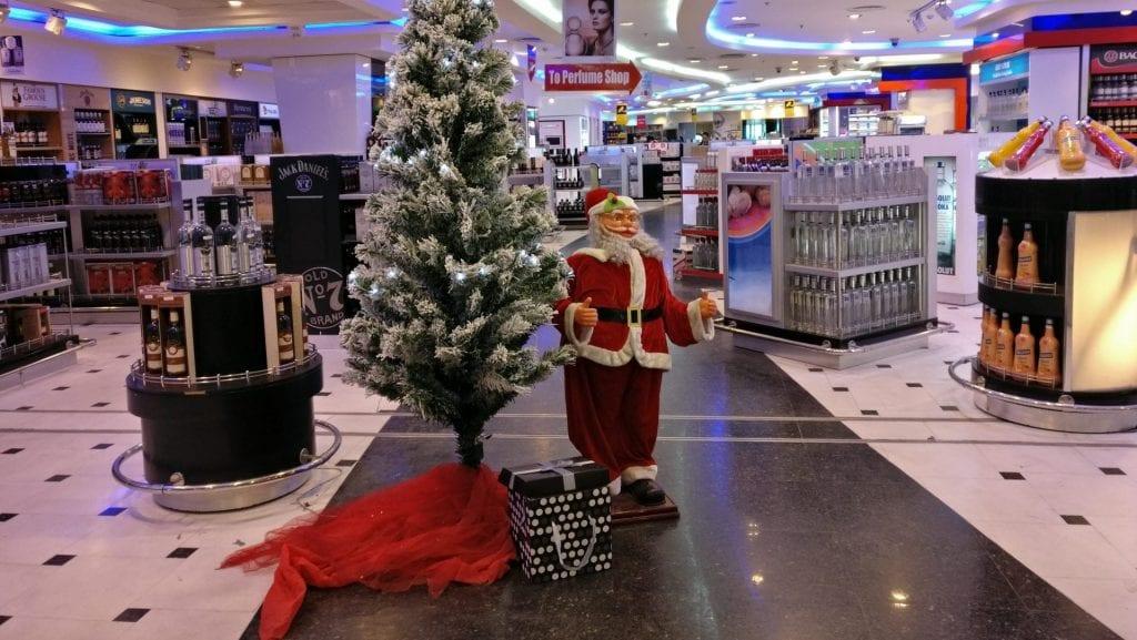 Flughafen Kairo Shopping