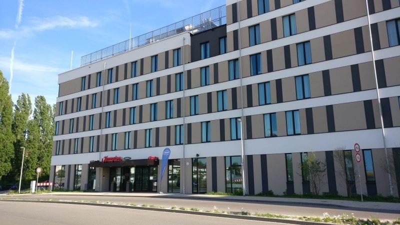 Hampton By Hilton Freiburg Gebäude