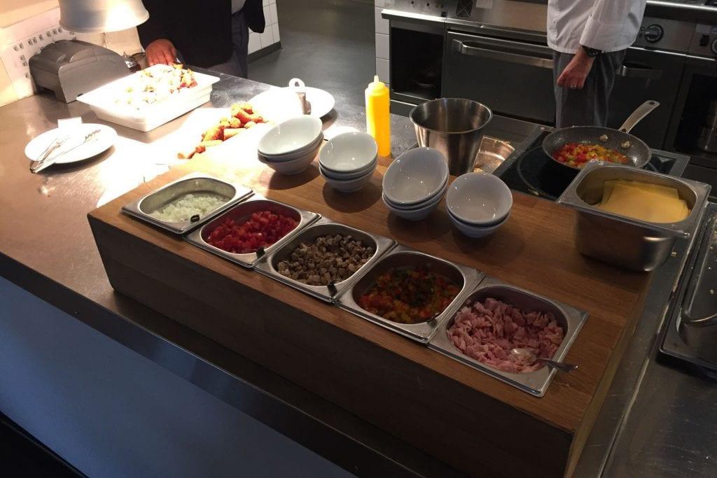 Hilton Garden Inn Leiden Breakfast Omelette Station