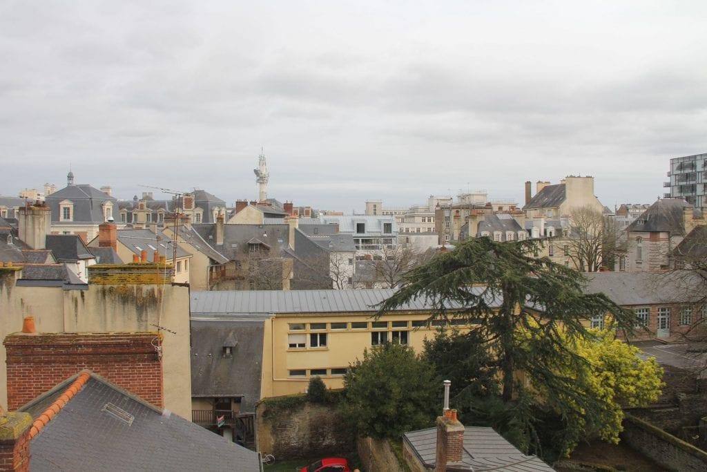 Hotel Balthazar Rennes Superior Room Ausblick
