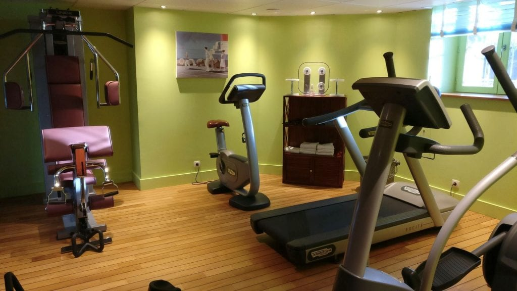 Hotel Royal Emeraude Dinard Fitness