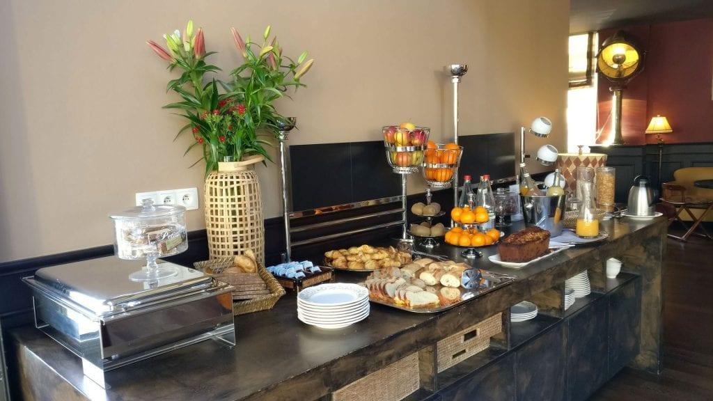 Hotel Royal Emeraude Dinard Frühstück 2