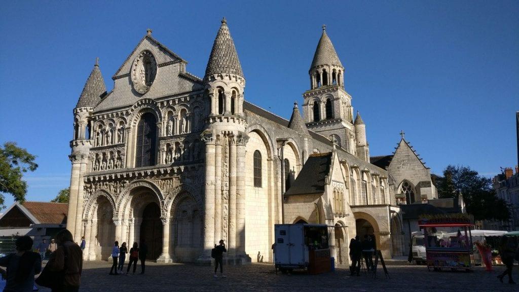 L'Eglise Notre Dame De La Grande Poitiers