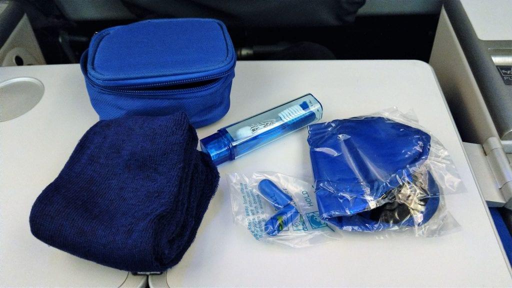 LOT Premium Economy Class Amenity Kit