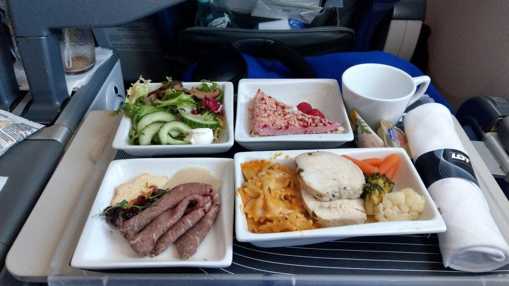 LOT Premium Economy Class Essen