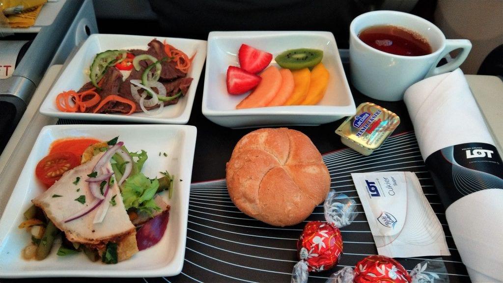 LOT Premium Economy Class Essen 2