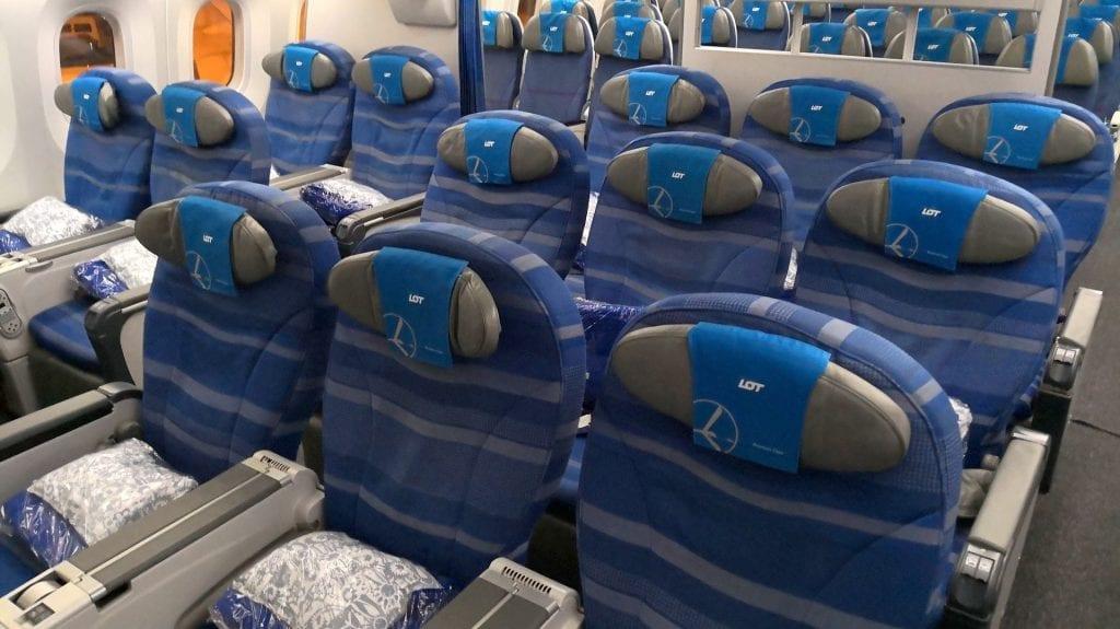 LOT Premium Economy Class Kabine