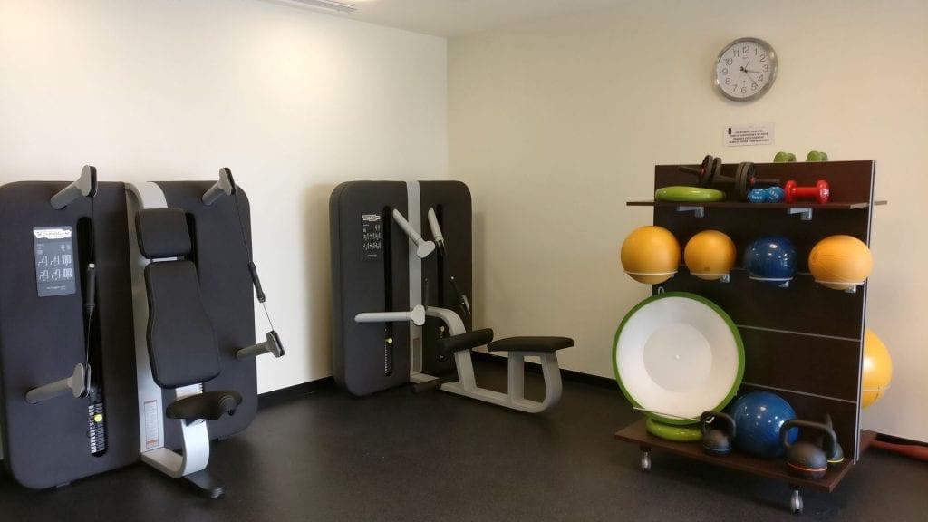 La Grande Terrasse Hotel La Rochelle Gym 2