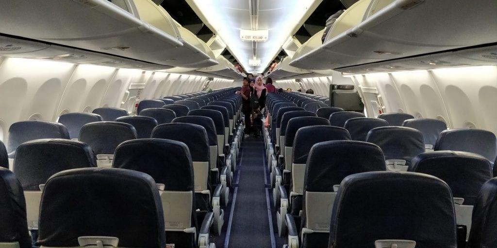 Lion Air Economy Class Kabine