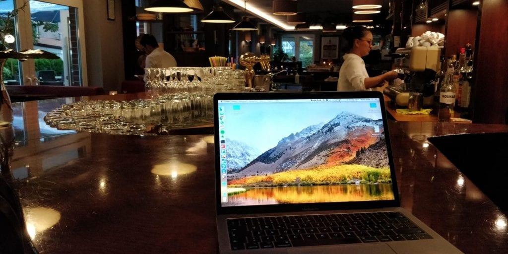 Moritz Restaurant Laptop