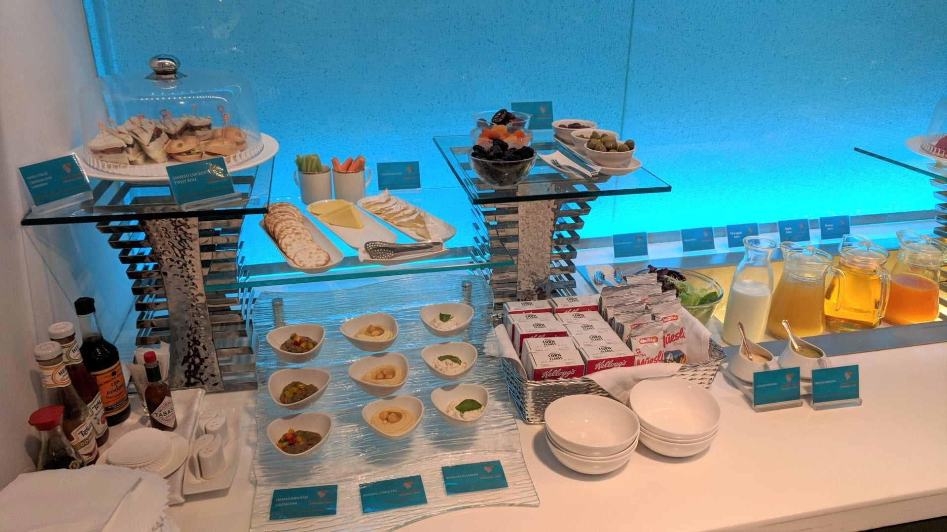 Oman Air Lounge Bangkok Catering (2)