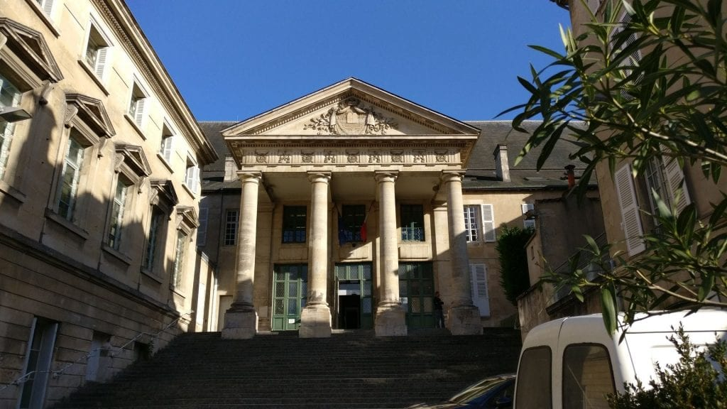 Palais De Justice Poitiers