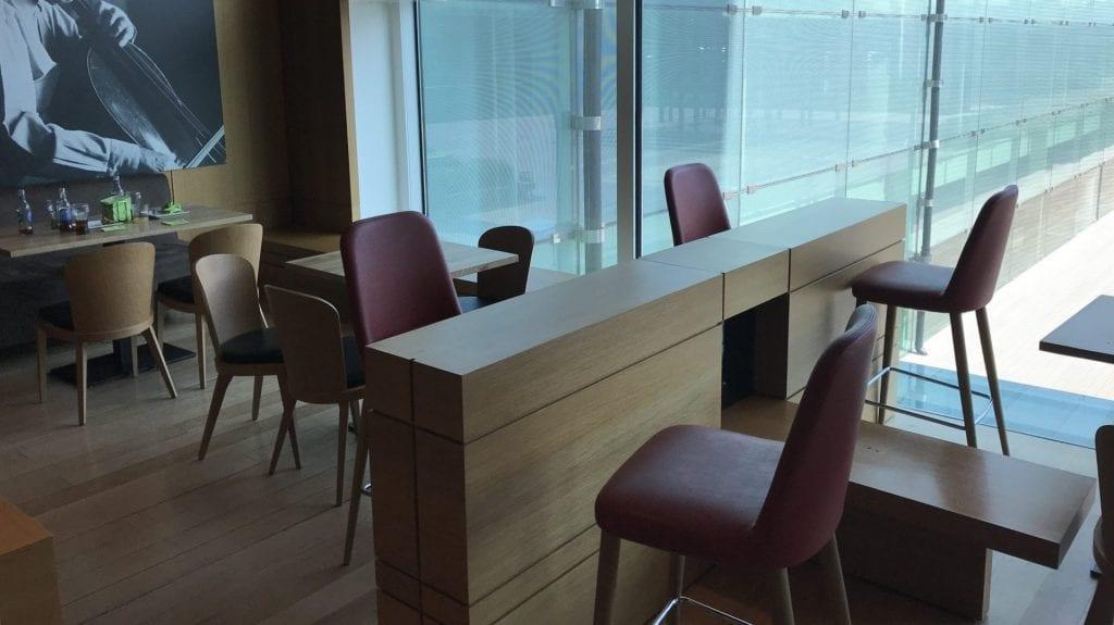 Pau Casals VIP Lounge Barcelona Sitze 2