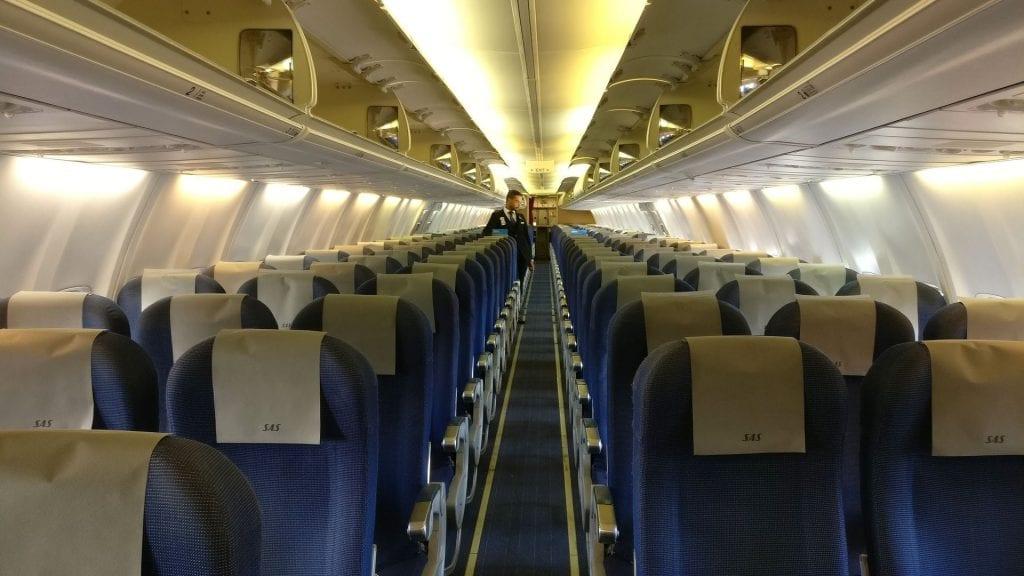 SAS Economy Class Kurzstrecke