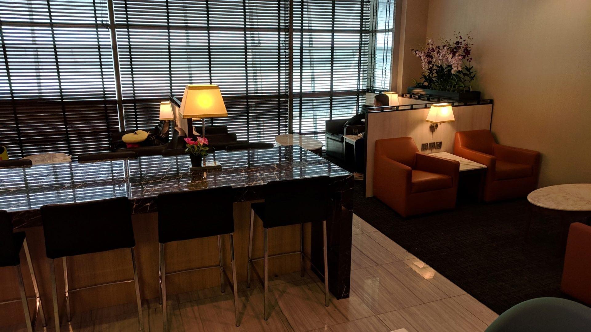 SATS Premier Lounge Singapur Business Centre