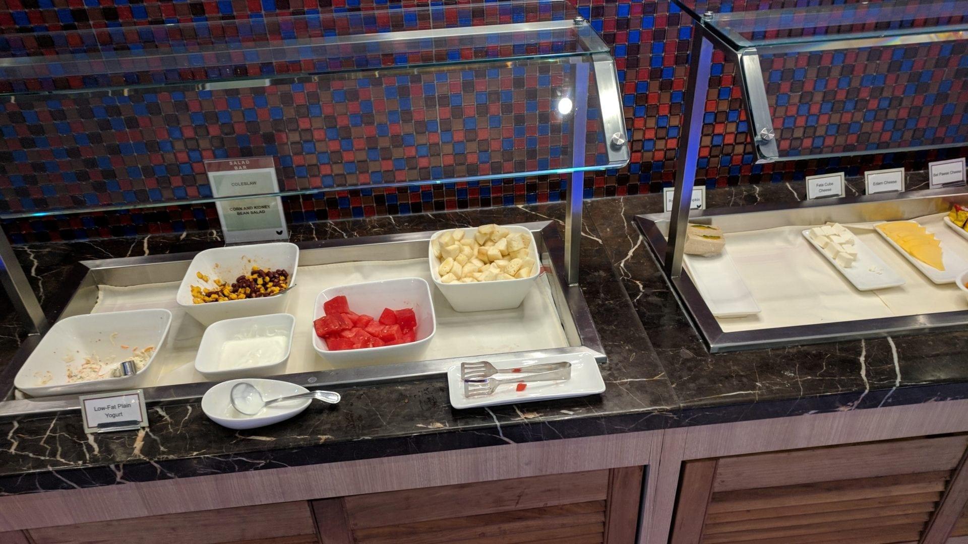 SATS Premier Lounge Singapur Cold Catering