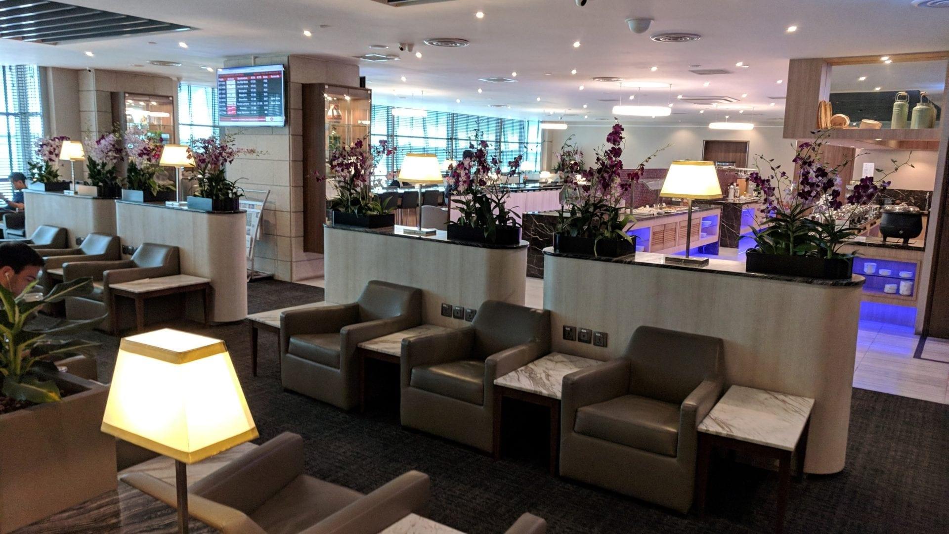 SATS Premier Lounge Singapur Lounge