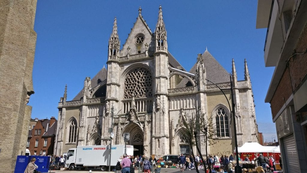 Saint Eloi Kirche Dünkirchen