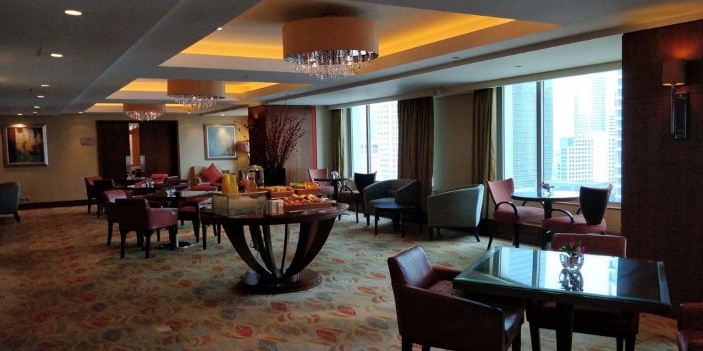 Shangri La Jakarta Horizn Club Lounge