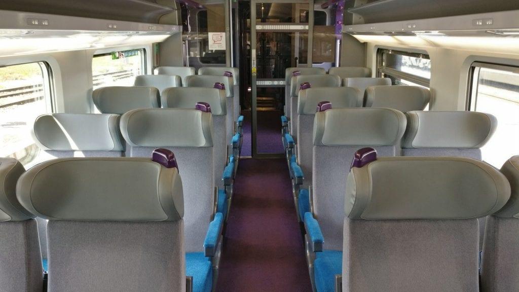 TGV Zweite Klasse