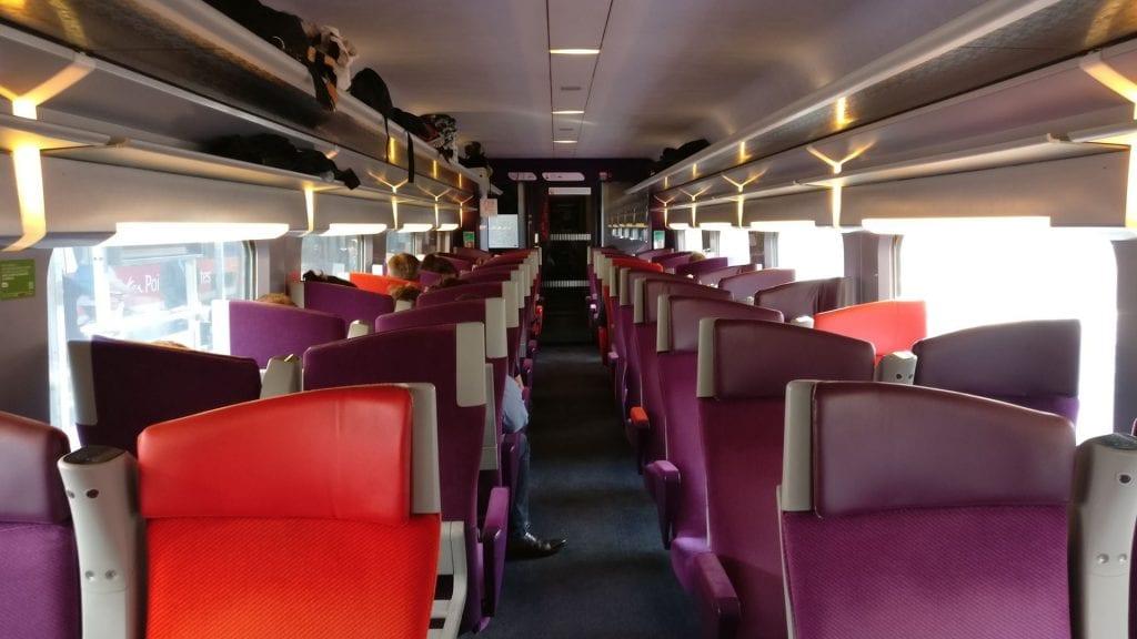 TGV Zweite Klasse Alt