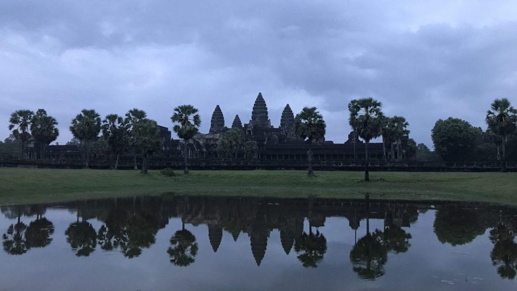 Angkor Wat Kambodscha Sonnenaufgang