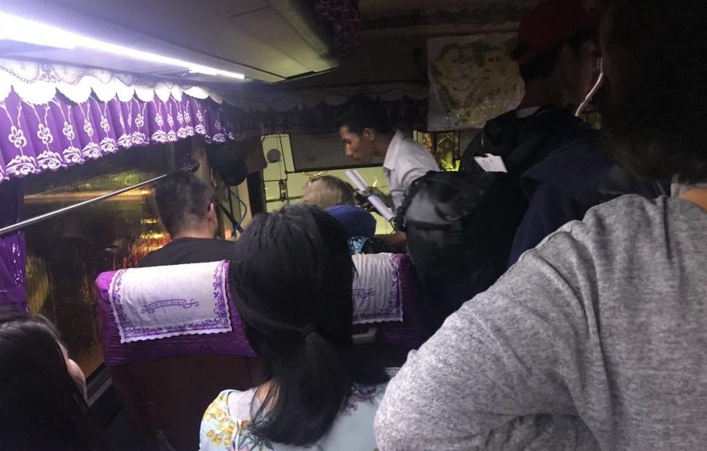 Bus Siem Reap