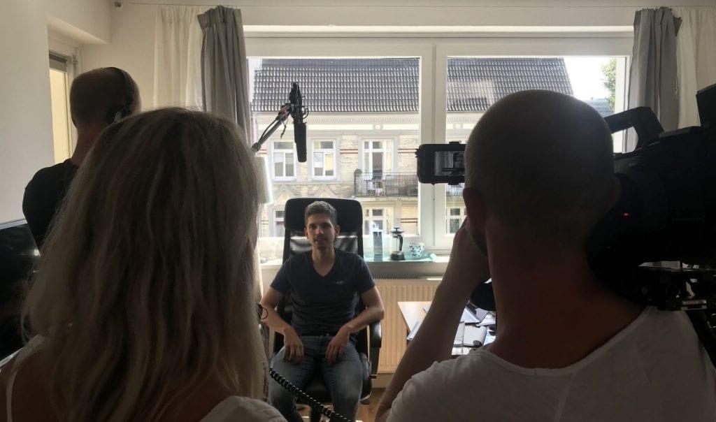 Galileo Dreh Moritz Interview