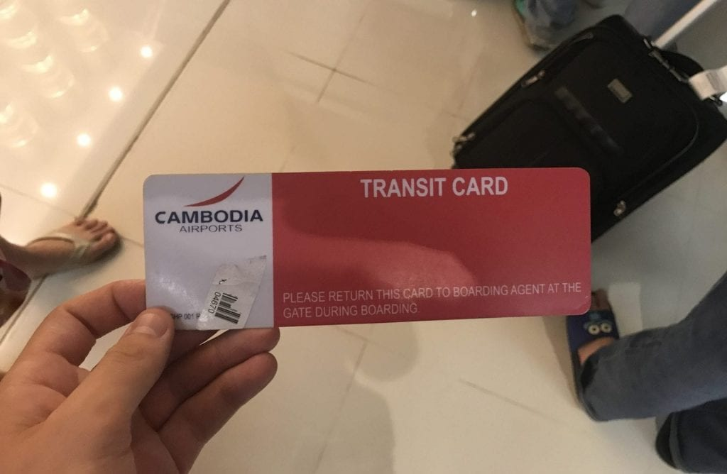 Transitcard Siem Reap