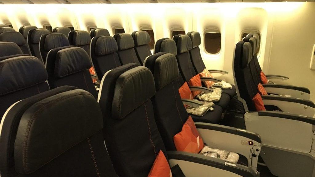 Air France Economy Class Langstrecke Kabine 2