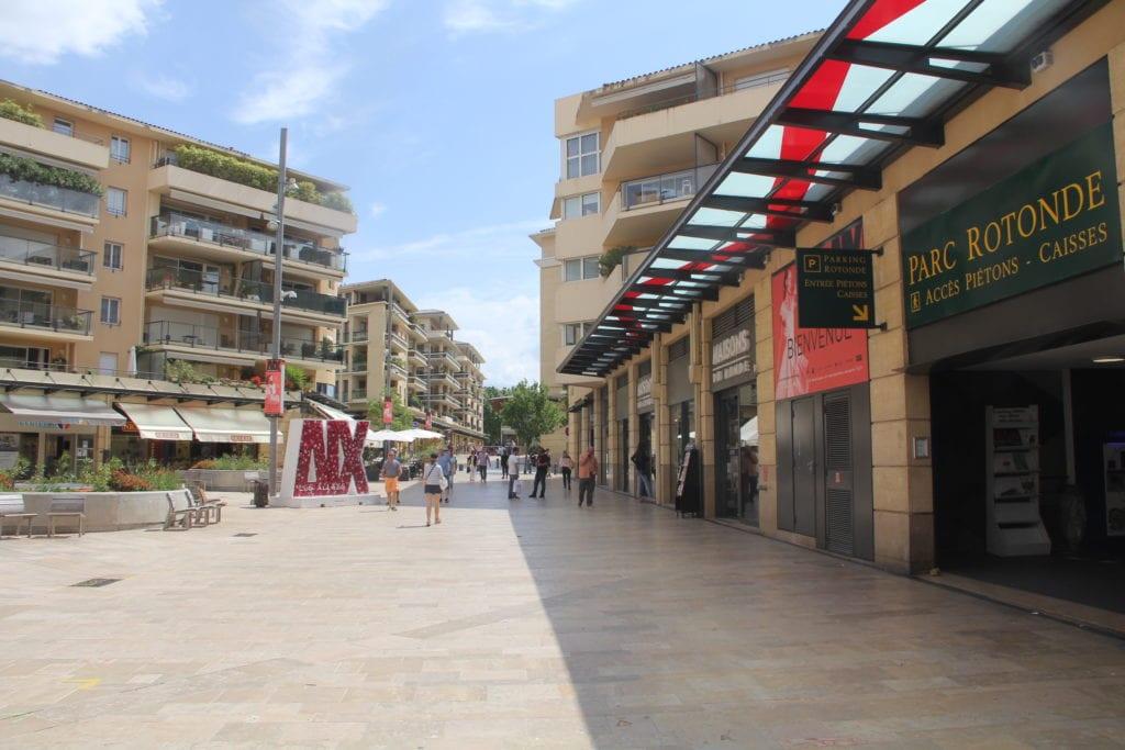 Aix En Provence Shopping La Rotonde
