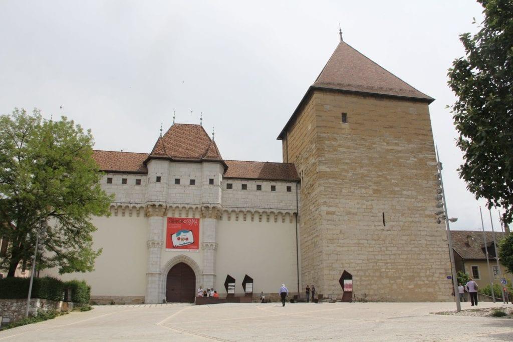 Annecy Burg Ausblick