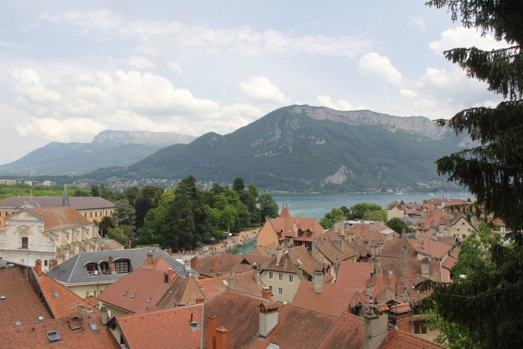 Annecy Castle View