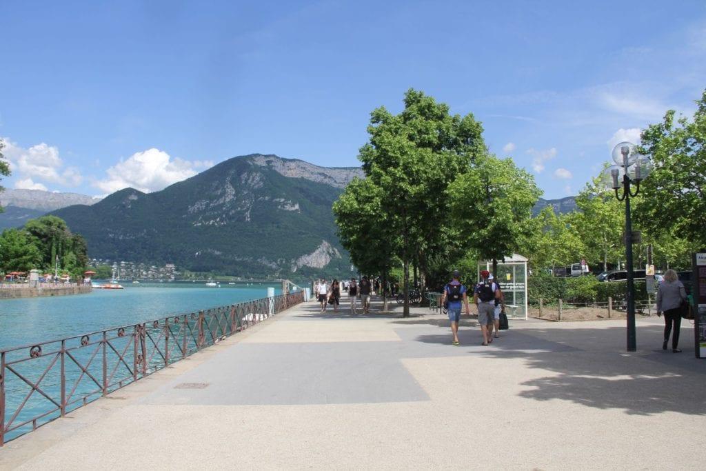 Annecy Quai De La Tournette