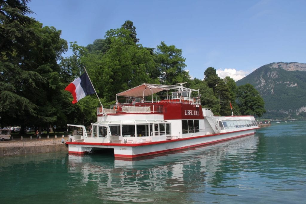 Annecy Sightseeing Boat