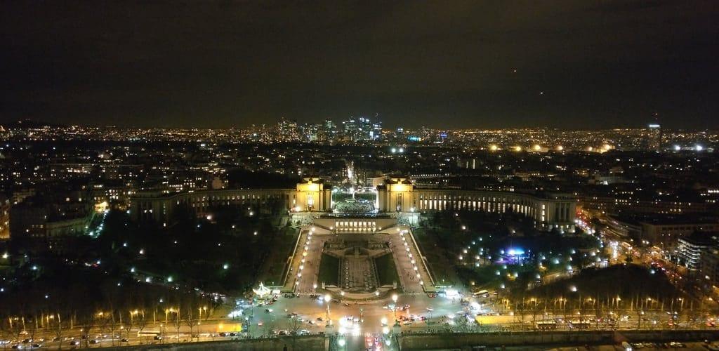 Ausblick Eiffelturm Paris