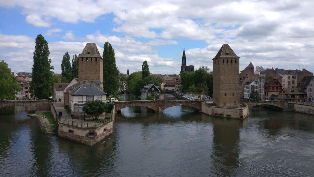 Barrage Vauban Straßburg