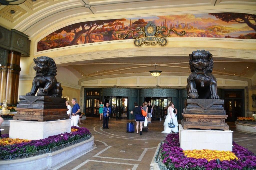 Bellagio Las Vegas Eingang