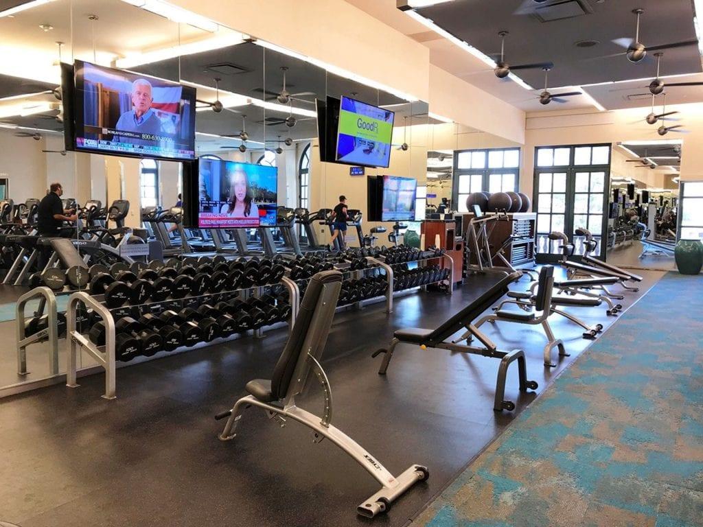 Bellagio Las Vegas Fitness 3